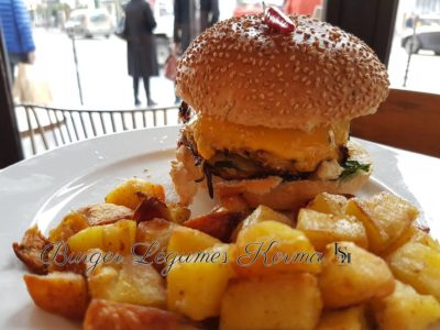 burger vegetarien Paris